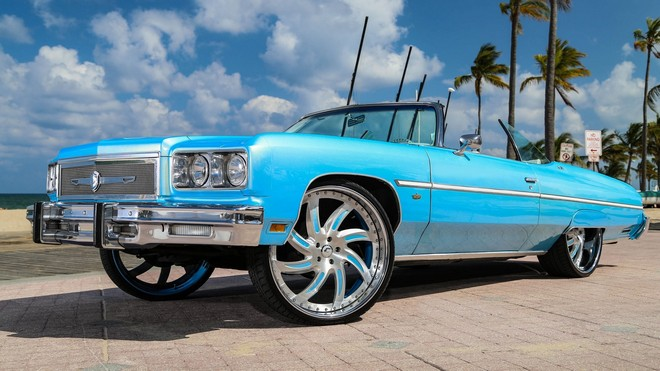 1920x1080 wallpapers: 75-caprice, forgiato fest dallas, blue, side view (image)