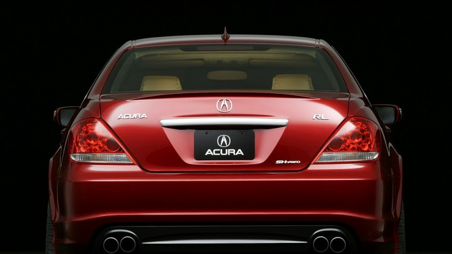 1920x1080 wallpapers: acura, rl, concept, 2005, car, acura, style, rear view, concept car (image)