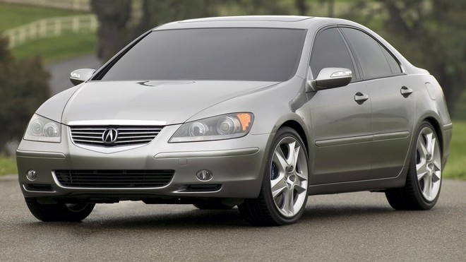 1920x1080 wallpapers: acura, rl, concept, metallic gray, nature, auto, concept car, acura, asphalt (image)