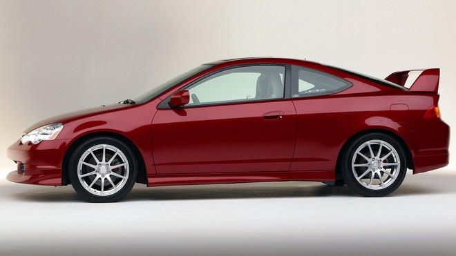 1920x1080 wallpapers: acura, rsx, 2003, red, auto, acura, style (image)