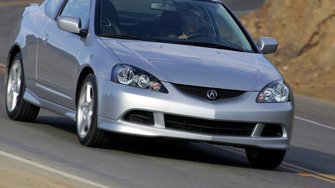 1920x1080 wallpapers: acura, rsx, silver metallic, front view, auto, acura, road (image)