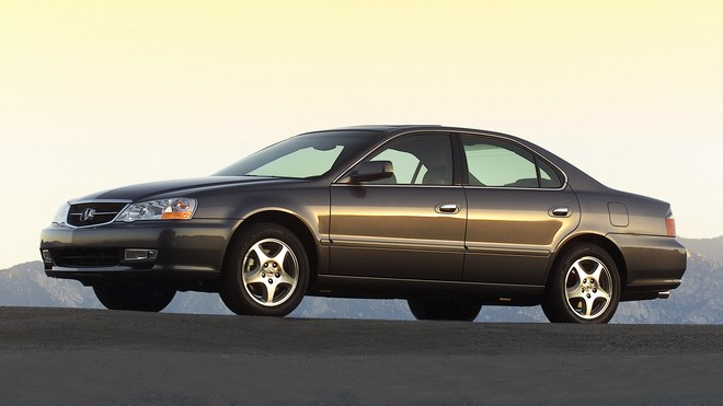 1920x1080 wallpapers: acura, tl, 2002, brown, mountains, auto, asphalt, acura, style (image)