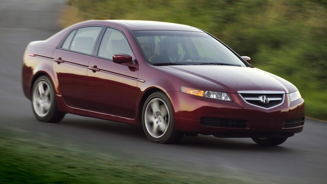 1920x1080 wallpapers: acura, tl, 2004, red, nature, speed, grass, style, auto, acura (image)