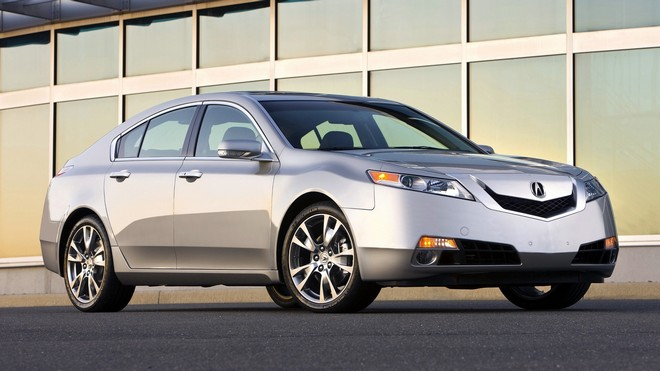 1920x1080 wallpapers: acura, tl, 2008, silver metallic, acura, auto, building, style (image)