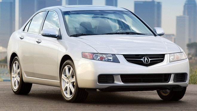 1920x1080 wallpapers: acura tsx, 2003, white, front view, buildings, asphalt, auto, acura (image)