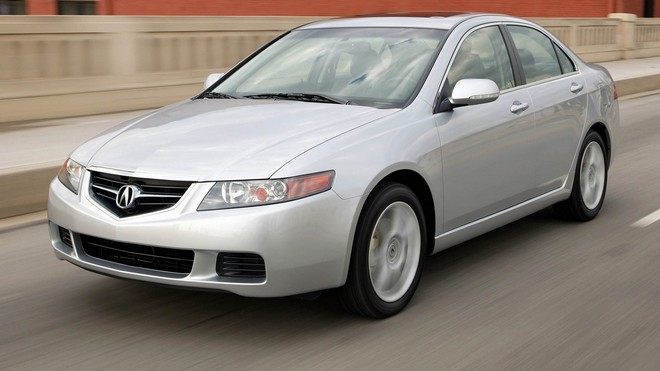 1920x1080 wallpapers: acura, tsx, 2003, silver metallic, acura, style, building, bridge, auto, speed (image)