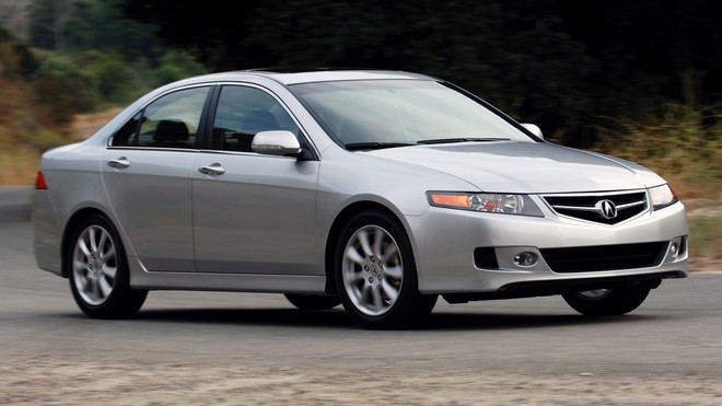 1920x1080 wallpapers: acura, tsx, 2006, silver metallic, speed, acura, asphalt, style, auto, nature, shrubs (image)