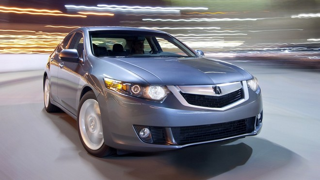 1920x1080 wallpapers: acura, tsx, v6, 2009, lights, front view, speed, asphalt, acura, auto, style (image)