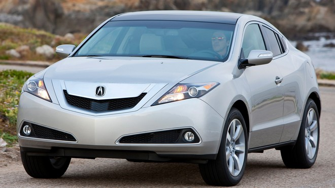 1920x1080 wallpapers: acura, zdx, 2009, silver metallic, auto, style, rocks, sea, acura, nature (image)