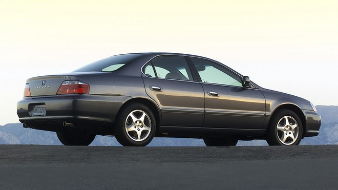 1920x1080 wallpapers: acura, 2002, gray, side view, auto, acura, tl, asphalt (image)