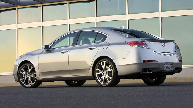 1920x1080 wallpapers: acura, 2008, silver metallic, side view, acura, auto, tl, building (image)