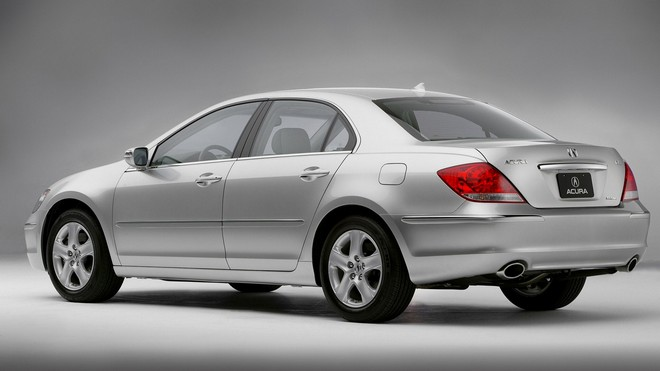 1920x1080 wallpapers: acura, sedan, auto, silver metallic, style, rl, acura (image)