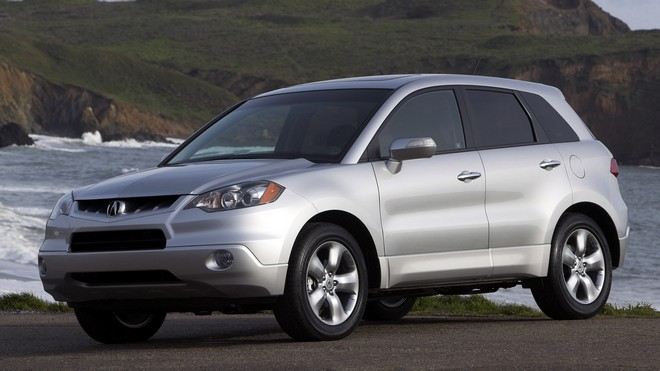 1920x1080 wallpapers: acura, silver metallic, front view, style, auto, water, nature, rdx (image)