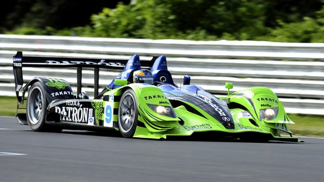 1920x1080 wallpapers: acura, green, blue, movement, auto, track, pilot, side view, acura, arx-01, gorgeous (image)