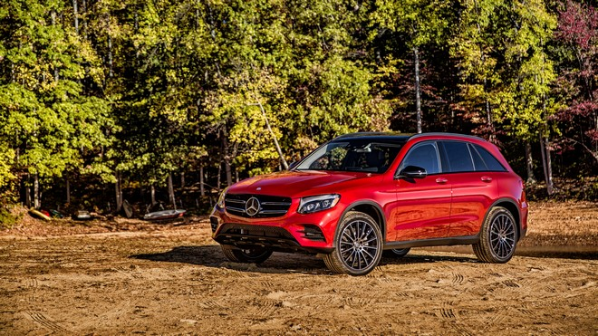 1920x1080 wallpapers: amg, mercedes-benz, glk-class, x2536, side view (image)