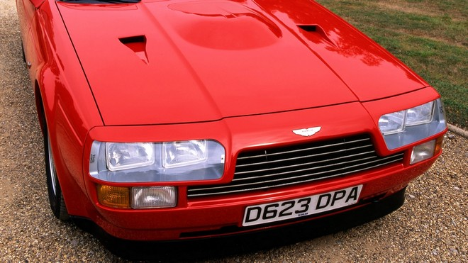 1920x1080 wallpapers: aston martin, 1986, red, front view, v8, car, vantage (image)