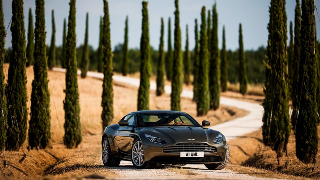 1920x1080 wallpapers: aston martin, db1, front view (image)
