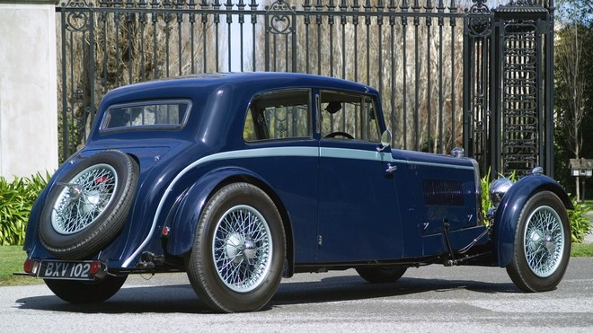 1920x1080 wallpapers: aston martin, mkii, 1934, blue, auto, aston martin, rarity (image)