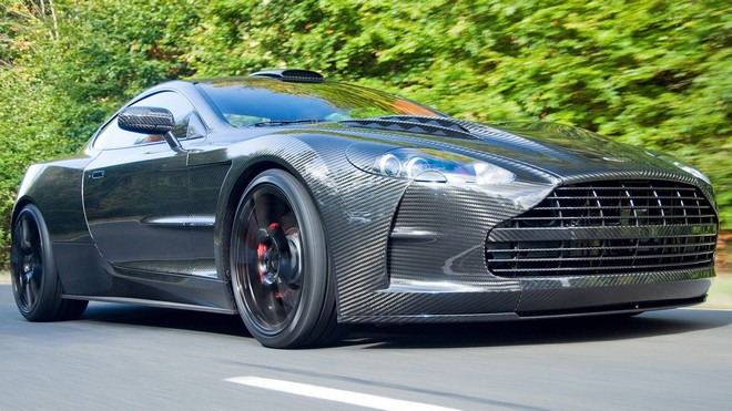 1920x1080 wallpapers: aston martin, gray, road, front bumper (image)