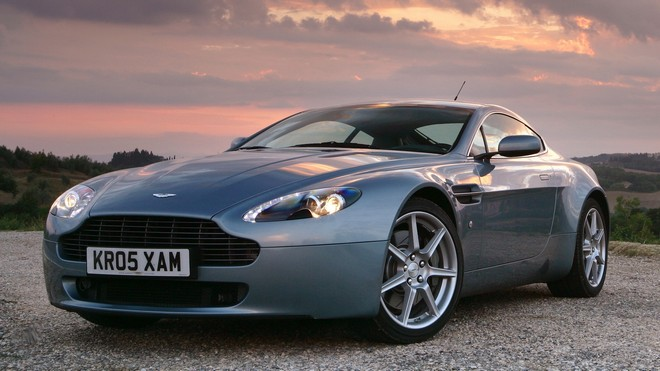 1920x1080 wallpapers: aston martin, v8, vantage, 2005, front view, style, aston martin, sky, perfect (image)