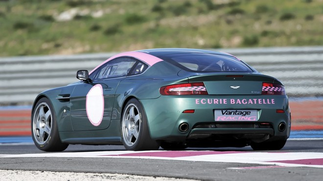 1920x1080 wallpapers: aston martin, v8, vantage, 2007, aston martin, auto, side view, sports (image)