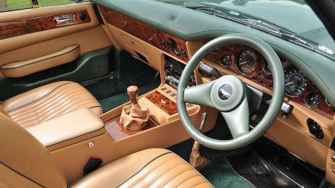 1920x1080 wallpapers: aston martin, v8, vantage, volante, speedometer, steering wheel, interior, salon (image)