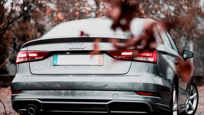 1920x1080 wallpapers: audi a3, audi, rear view, silver (image)