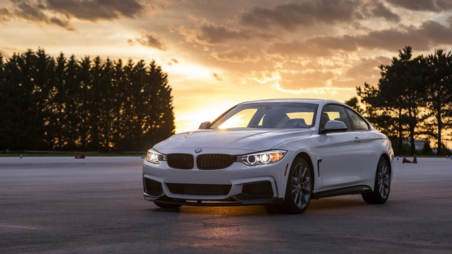 1920x1080 wallpapers: bmw, 435i, side view, white (image)