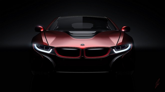 1920x1080 wallpapers: bmw, i8, concept, front view (image)
