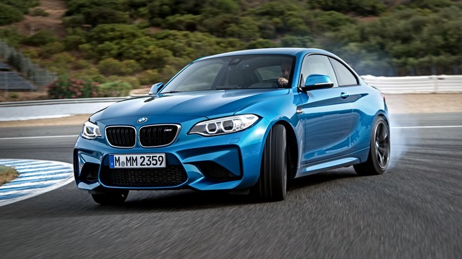1920x1080 wallpapers: bmw, m2, f87, blue (image)