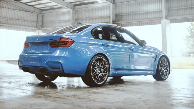 1920x1080 wallpapers: bmw m3 competition, bmw, car, blue (image)