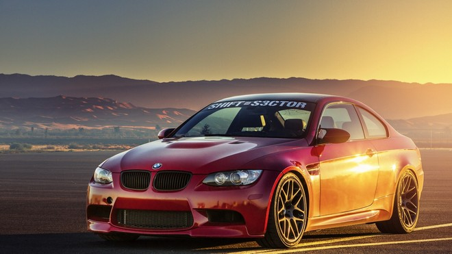1920x1080 wallpapers: bmw, m3, e92, orange, light, bmw, glare, orange (image)