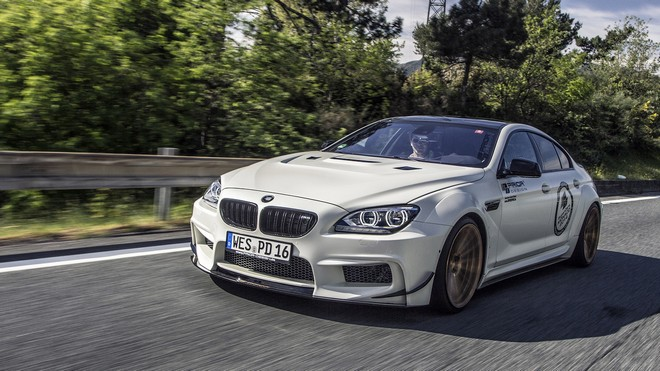 1920x1080 wallpapers: bmw, m6, gran coupe, prior-design, four-door (image)
