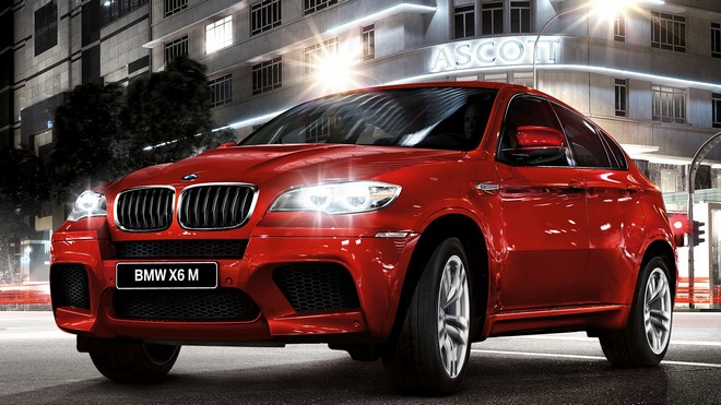 1920x1080 wallpapers: bmw x6, bmw, red, side view (image)
