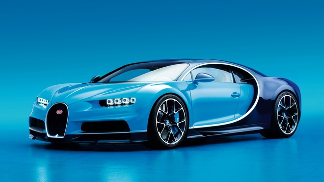 1920x1080 wallpapers: bugatti, chiron, side view, blue (image)