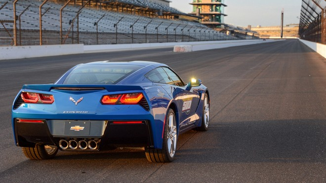 1920x1080 wallpapers: chevrolet, corvette, stingray, c7, pace car (image)