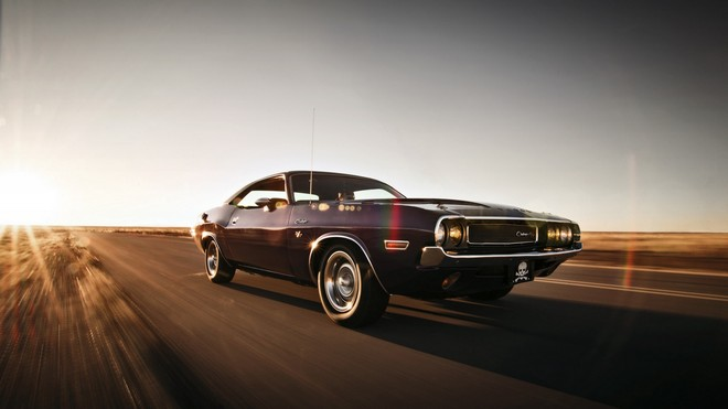 1920x1080 wallpapers: dodge, challenger, motion, speed (image)