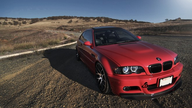 1920x1080 wallpapers: e46, bmw, red, auto, pretty pic (image)