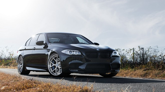 1920x1080 wallpapers: f10, m5, black, black, bmw, front view, nice (image)