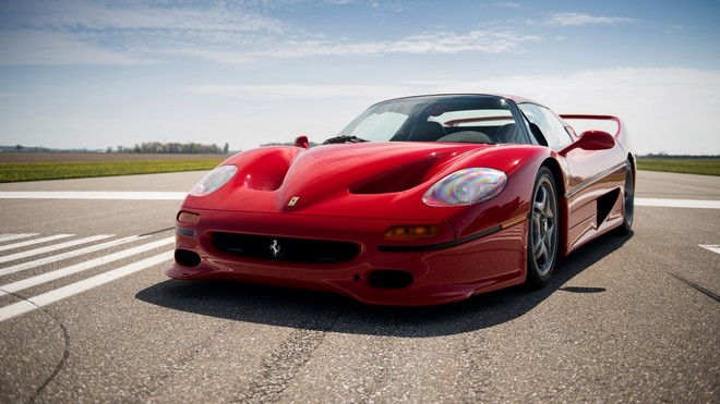 1920x1080 wallpapers: ferrari, f50, 1995, red (image)