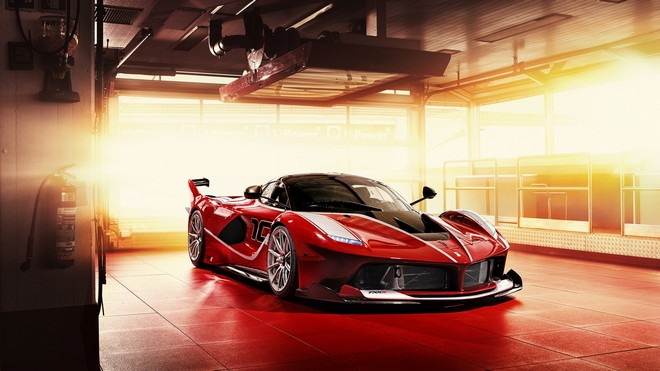 1920x1080 wallpapers: ferrari fxx-k, sports car, red (image)