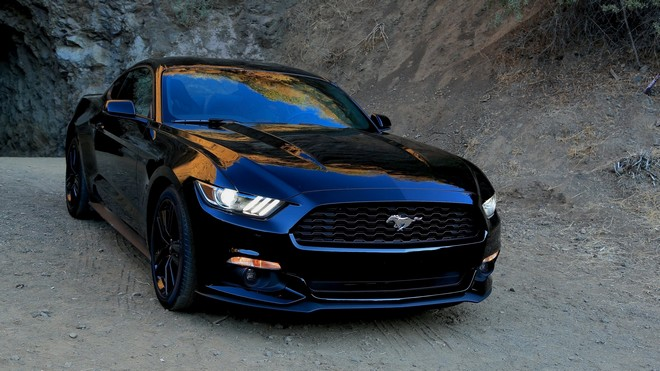 1920x1080 wallpapers: ford, ford, mustang, black, sports car (image)