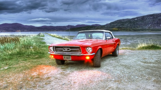 1920x1080 wallpapers: ford mustang hdr (image)