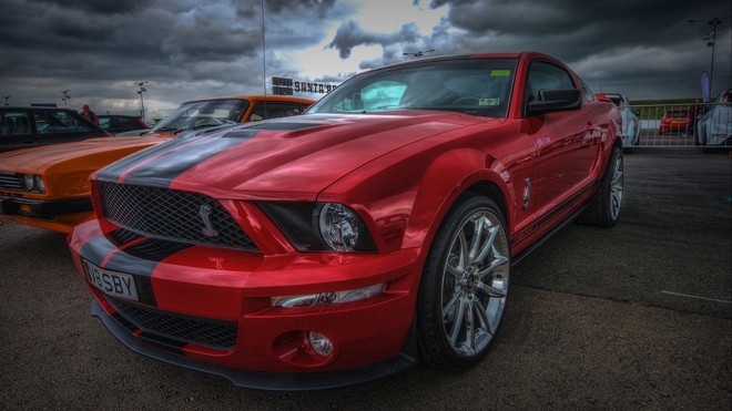 1920x1080 wallpapers: ford mustang shelby gt500, ford mustang, red, sports car, super (image)