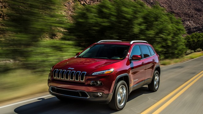 1920x1080 wallpapers: jeep cherokee, jeep, auto, speed, 2014 (image)