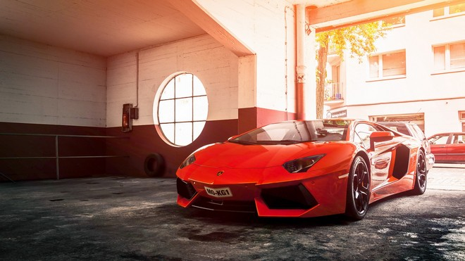1920x1080 wallpapers: lamborghini, aventador, lp 700-4, red (image)