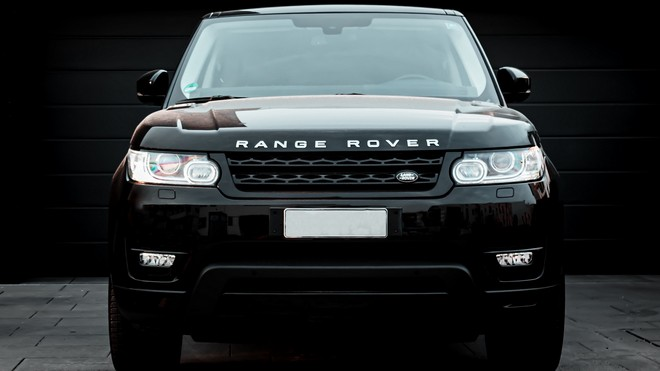 1920x1080 wallpapers: land rover, range rover, car, black, front view (image)