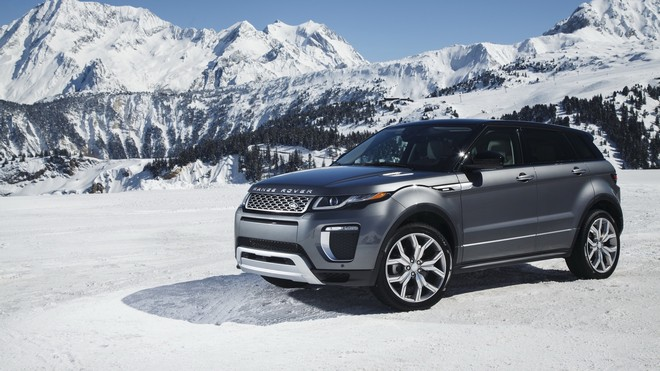 1920x1080 wallpapers: land rover, range rover, snow, side view (image)