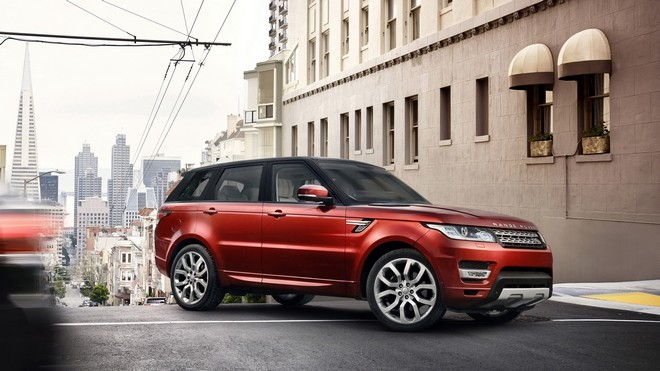 1920x1080 wallpapers: land rover, range rover, off-road vehicle, red (image)