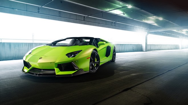 1920x1080 wallpapers: lp-740, aventador, green, vorsteiner, lamborghini, super (image)